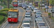 BRT lanes Jakarta