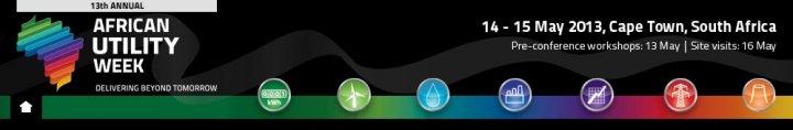 African Utility week logo