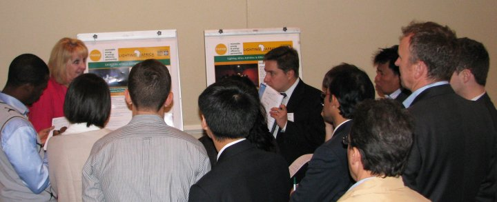 Project implementers meeting poster presentation Johannesburg