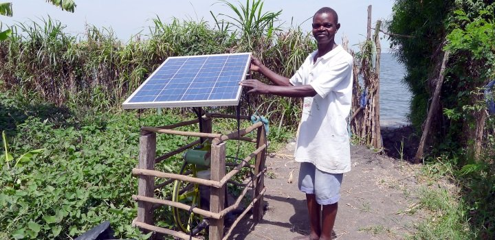 Solar Powered Irrigation In Kenya Futurepump Reeep