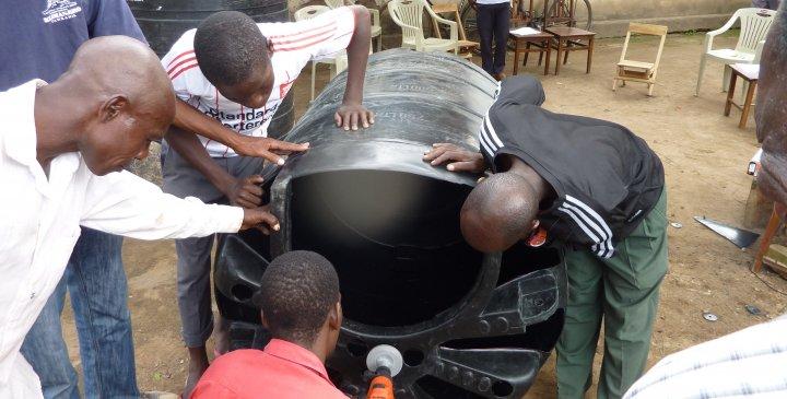 Entrepreneur training Compact Biogas System