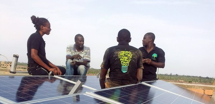 Solar Powered Multi-Use Cold Storage in Uganda: Station