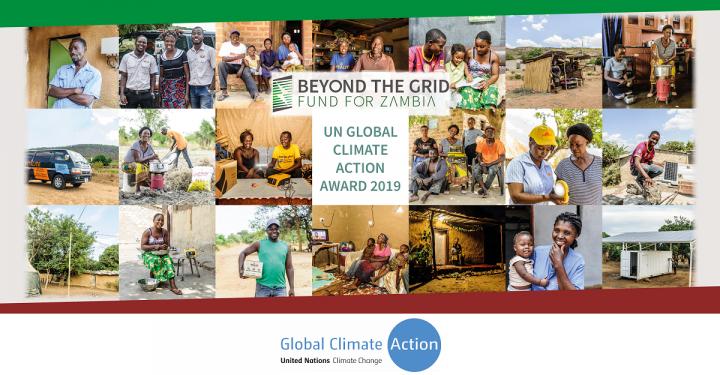 BGFZ wins UN Global Climate Action Award