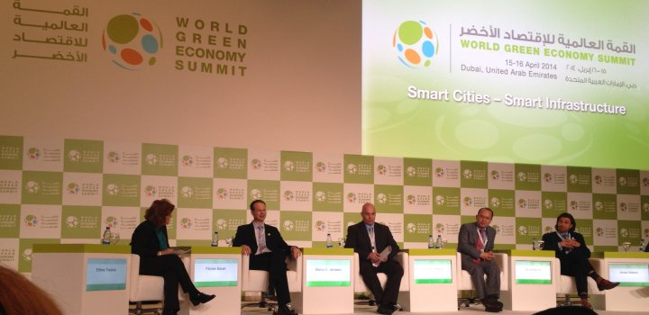 At Dubai conference, experts see a green economy driven by