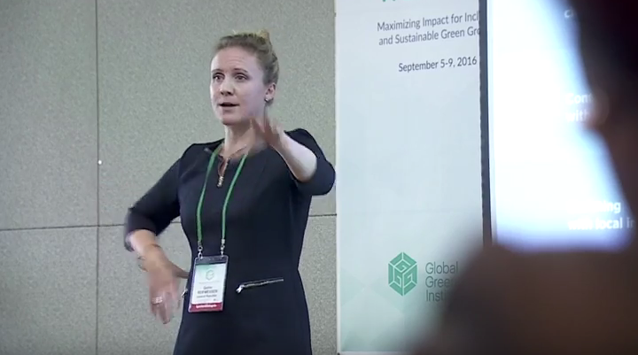 Quinn Reifmesser at the GGKP Conference 2016