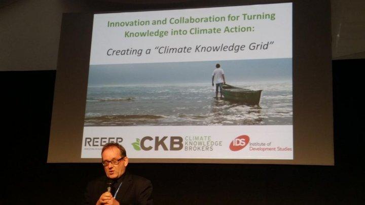 Martin Hiller talks at CKB Group COP20 Side Event